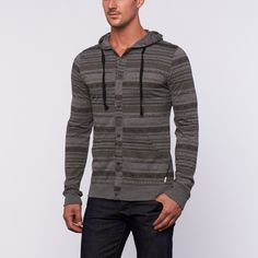 Boots Hooded Long-Sleeve // Grey (S)