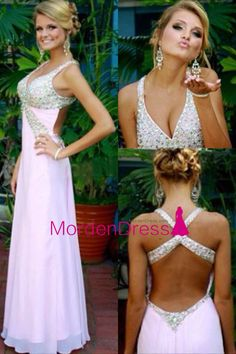Kikiprom are the best places for you to buy affordable 2018 sexy halter open back a line prom dresses chiffon with rhinesne We offer cheap yet elegant 2018 sexy halter open back a line prom dresses chiffon with rhinesne for petites and plus sized women. Straps Prom Dresses, Prom Dresses 2015, A Line Prom Dresses, Junior Bridesmaid Dresses, Cheap Prom Dresses, Girls Dresses, Flower Girl Dresses, Prom 2015, Dance Dresses