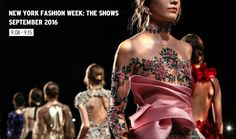 Stylish New York Fashion Week Spring 2017 Schedule