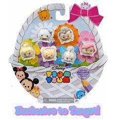 "Disney Tsum Tsum Target Exclusive Glitter Pastel 1"" Figures 6-Pack by Jakks Pacific - #58273"