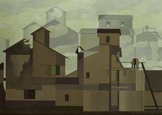 University of Arizona Museum of Art May 2010 – October 2010 Fritz Lang's 1927 film, Metropolis , is justifiably famous for its . Charles Sheeler, Charles Demuth, Gig Poster, Landscape Illustration, Illustration Art, Pop Art, City Sketch, Indie, Environmental Art
