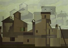 Charles Sheeler - Architectural Cadences (1954)