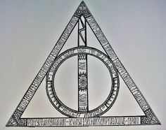 Quotes and spells in the sign of the Deathly Hallows