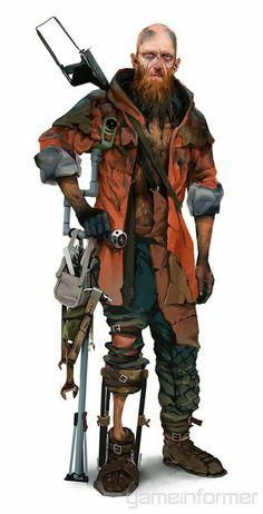 Meet The Weirdos Of Mad Max's Wasteland Post Apocalypse, Apocalypse World, Character Design References, Game Character, Character Concept, Mad Max, Gangsters, Rpg Cyberpunk, Apocalypse Character