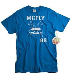 McFly 88 retro 80s future movie shirt by UnicornTees, $14.99