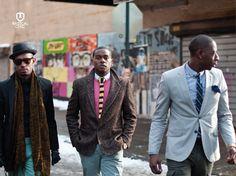 Vestir-se bem é para homens de todas as cores e de todos os estilos.  #ModaMasculina #ConsciênciaNegra #RadicalChic