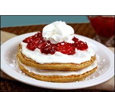 HG's Cheesecake Flapjack Stack