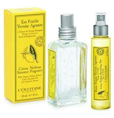 L'Occitane Citrus Verbena Summer Fragrance