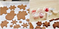 yżeczkę mielonego imbiru, 1 płaską łyżeczkę mielonych goździków, 1 łyżeczkę mielonego kardamonu, 1 łyżeczkę gałki muszkatołowej, 1 łyżeczkę mielonego ziela angielskiego Gingerbread Cookies, Desserts, Food, Tailgate Desserts, Ginger Cookies, Meal, Dessert, Eten, Meals