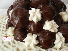 Profiteroles, Chocolate Glaze, Frosting, Pudding, Bongo, Desserts, Food, Deserts, Sprouts