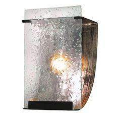 Rain One Light Bath Sconce by Varaluz