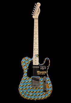 Top of the Rock Guitar Hard Rock Cafe Munich #hardrock