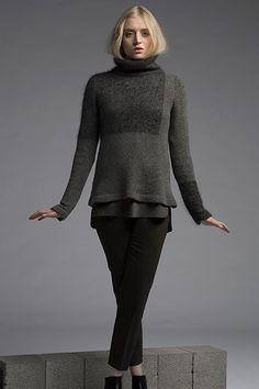 Monochrome | Blur : part of my Monochrome Collection for Shibui Knits