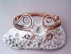 handmade wire jewelry | Bracelet Wire Wrapped Copper Jewelry Handmade by ... | Beading - Wire