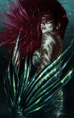 The Last Princess: The Stone of Destiny - Atargatis in mermaid form