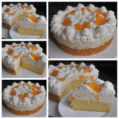 Vanilla Cake, Cheesecake, Food And Drink, Vegetarian, Recipes, Cheesecakes, Ripped Recipes, Cherry Cheesecake Shooters