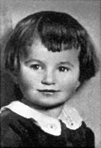 Hana Kovarovsky deported to Lodz then to Chelmno death camp with other children from Lidice and gassed in a concealed van on Jul. 2, 1942.