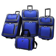 U.S. Traveler New Yorker 4-Piece Luggage Set for $79.99