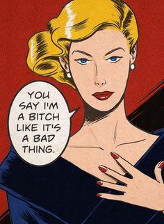 Comic Kunst, Comic Art, Vintage Pop Art, Vintage Design, Pop Art Girl, Riot Grrrl, Comics Girls, Vintage Comics, Pics Art