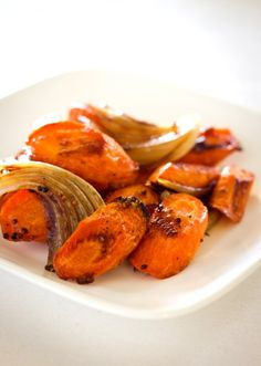 Caramelized Carrots and Onions with Whole Grain Mustard | Daydream Kitchen
