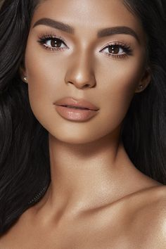 Soft Glam # maquillage naturel - make up - # Glam Makeup, Eye Makeup, Tan Skin Makeup, Jessica Clement, Natural Makeup Looks, Simple Makeup, Eyeliner Hacks, Make Up Organizer, Wedding Makeup Tips