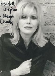 I met Joanna Lumley and she was wonderful. Joanna Lumley, British Actresses, Actors & Actresses, New Avengers, Avengers Women, Ella Enchanted, Emma Peel, Old Movie Stars, Absolutely Fabulous