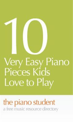Nothing gets a child more interested in practicing than a great piece of music. This list of piano sheet music for the beginner through second year student is all available online and each one is ...