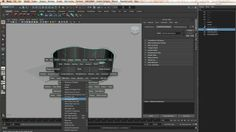 Mostly showing the settings for generating polys when using Maya's NURBS modeling tools.