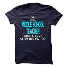Im A/An MIDDLE SCHOOL TEACHER - #black shirts #crew neck sweatshirts. MORE INFO => https://www.sunfrog.com/LifeStyle/Im-AAn-MIDDLE-SCHOOL-TEACHER-32729437-Guys.html?60505