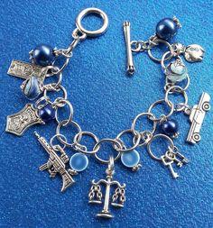 Police Support Dangle Bracelet by dbanda1 on Etsy