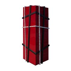 The Damar #BarCabinet is that piece of furniture which is sure to amaze your guests! A very #modern & futuristic #design by #CARLO .  Made of #red and #blacklacquer with a mother-of-pearl triangle trimming this majestic bar #cabinet looks as if it has been neatly gift-wrapped for your #livingroom or #diningroom. #cabinets #designercabinets #CarloPessina #CARLO #designerfurniture #moderncabinet #storage #conetmporarycabinet #uniquecabinet #wardrobe #furniture.