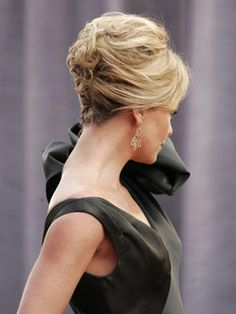 Great french twist with some height