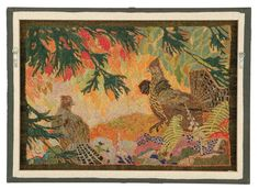 Slideshow:Home Economics: 150 Years of Canadian Hooked Rugs by Blouin Artinfo Datebook (image 1) - BLOUIN ARTINFO, The Premier Global Online Destination for Art and Culture | BLOUIN ARTINFO