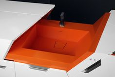The Best Modern Home Office Design Elements Multipurpose Furniture, Multifunctional Furniture, Küchen Design, Modern Design, Conservation, Modern Home Offices, Motorhome Interior, Space Saving Kitchen, Futuristic Interior