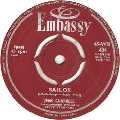 45-WB 434. Sailor. Jean Campbell. 45.