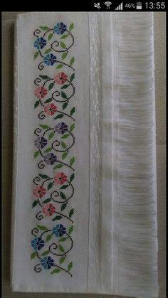 Cross Stitch Art, Cross Stitch Borders, Cross Stitch Designs, Cross Stitch Embroidery, Cross Stitch Patterns, Crochet Border Patterns, Hand Embroidery Design Patterns, Baby Knitting Patterns, Crochet Motif