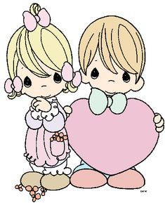Precious Moments Clip Art | Precious Moments Clipart - Quality Cartoon Characters Clipart Images