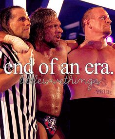 Truly amazing moment at WrestleMania 28 with Triple H, The Undertaker, & Shawn Michaels