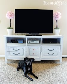 My Little House: The Case for Dressers as TV Stands