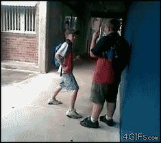 Bullies getting knocked - 15 GIFs