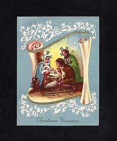 Pretty Christmas Card GC 08 | eBay