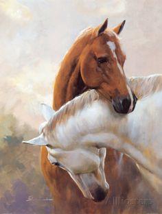 Equine art - by Artist Spartaco Lombardo Cute Horses, Pretty Horses, Horse Love, Beautiful Horses, Animals Beautiful, Painted Horses, Arte Equina, Horse Oil Painting, Diy Painting