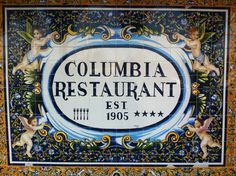 The Columbia Restaurant - Ybor City - Tampa - Forida