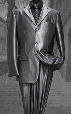 Dress Suits For Men, Mens Suits, Sharkskin Suit, Just Fresh, Suit Accessories, Tuxedo, Casual Outfits, Suit Jacket, Menswear