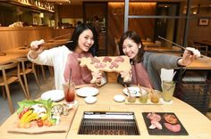 No smoke at all! Like a magic. YAKINIKU Boucherie @ Lumine Est Shinjuku 8F…