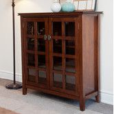 "Found it at Wayfair - Artisan Medium Storage Cabinet $289.00   36"" Tall    38"" Wide"