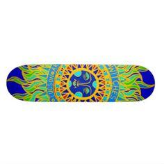 Tucson, Arizona skateboard design from Witches Hammer shop on Zazzle.