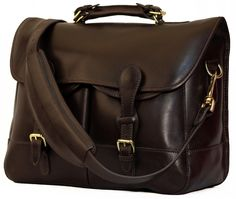 Mulholland Brothers All Leather Anglers Bag  03a634631dd3b