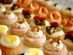 Canapes y bocadillos distincion