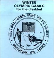 The 1976 Winter Paralympic Games were the first Winter Paralympics. They were held in Örnsköldsvik, Sweden from 21 to 28 February 1976. The disabilities included in this Paralympics were blindness and amputees. Sixteen countries took part with 198 athletes.There were competitions in Alpine and Nordic skiing for amputee and visually impaired athletes, and a demonstration event in ice sledge racing. Originally known as the 1st Winter Olympic Games for the Disabled